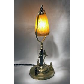 Антикварная лампа Египет, старинные вещи модерн в подарок