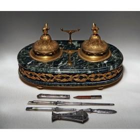 Старинный чернильный прибор Napoleon, антиквариат со всего мира в Москве