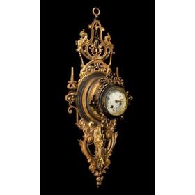Старинный французский картель Ренессанс ,купить старинные часы