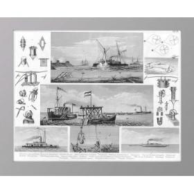 История флота на старинной гравюре