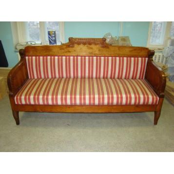Антикварный диван в стиле Русского ампира из Массива березы