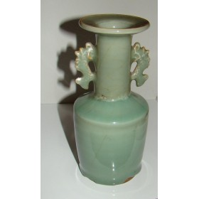 Редкая старинная китайская вазе селадон XVIII век