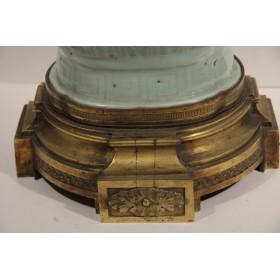 Редкая антикварная  китайская вазе селадон XVIII век