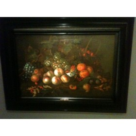 Старинный натюрморт  с фруктами художник Ван де Меер