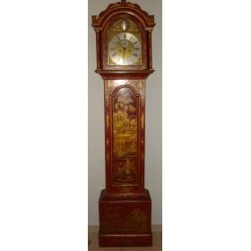 Старинные голландские часы напольные рококо