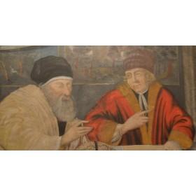 Старинная антикварная картина, Северное возрождение