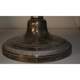 Антикварные парные подсвечники Антикварное серебро