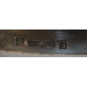 Старинные парные подсвечники, Антикварное серебро