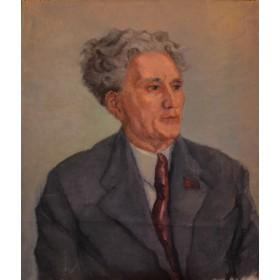 Живопись соц реализма Елена Михаиловна Бебутова портрет Сарьяна