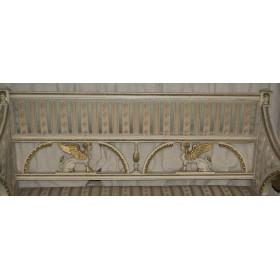 Антикварная софа диван в Египетском стиле. Русская антикварная мебель