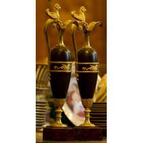 Парные вазы модель Раврио Франция Ампир