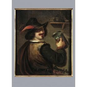 Старинная живопись, антикварная картина, Художник Бартш Густав, Германия