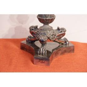 Старинное английское серебро Канделябры