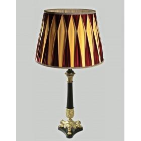 001 Антикварная настольная лампа АМПИР