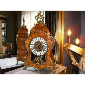 Старинные каминные французские часы
