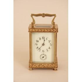 Антикварные французские часы-каретники