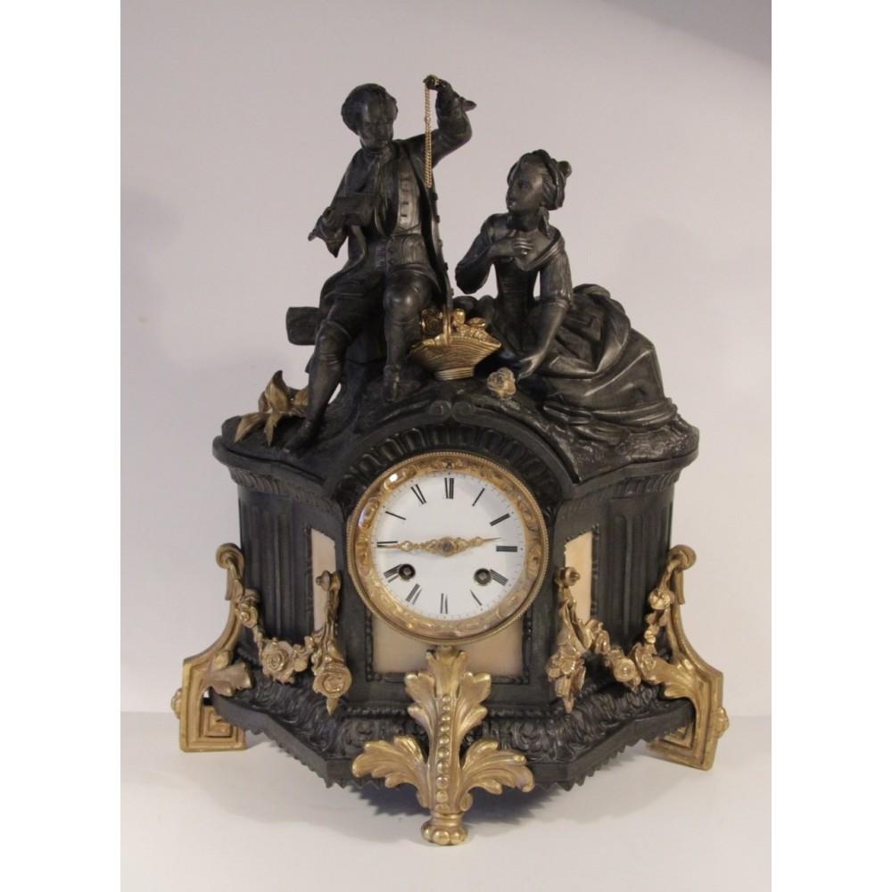 Каминные часы 19 век продать час стоимость литья в