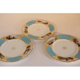 Старинные десертные тарелки Copland Spode