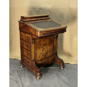 Старинный Викторианский Секретер,Англия, вторая половина XIX века