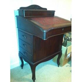 Старинный секретер, антикварная мебель купить в интерьер