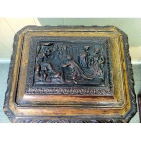 Старинный чайный столик, английский антикварный столик