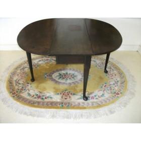 Старинный Стол раскладной дубовый 18 век