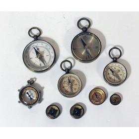 Миниатюрные антикварные английские компасы купить
