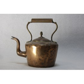 Старинный английский медный чайник
