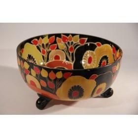 Антикварная ваза Quenvit 1925 г. Франция - купить в интерьер