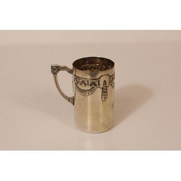 Антикварная чашечка стиль Ар Нуво