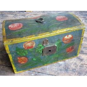 Купить старинную деревенскую английскую шкатулку