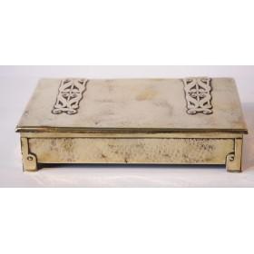 Купить старинную латунную шкатулку в стиле Arts&Crafts Англия