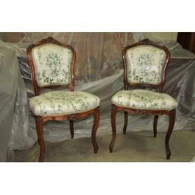 Два антикварных стула 19 века выполненных в Викторианском стиле, Англия