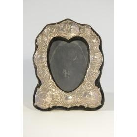 Антикварная серебряная фоторамка,Англия, вторая половина XX века