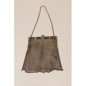Винтажная серебряная сумочка в стиле АР ДЕКО
