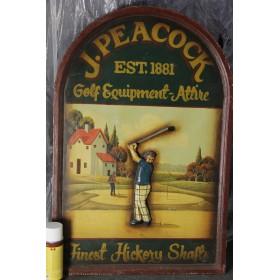 Реклама магазина для гольфа