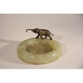 2123 Продается антикварная визитница в подарок,  купить Венскую бронзу Слон