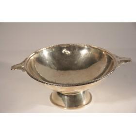 2231 Антикварное блюдо конфетница  Ар Деко серебро