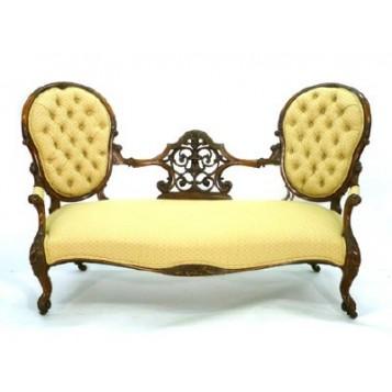 Антикварная Викторианская софа,Англия, XIX век