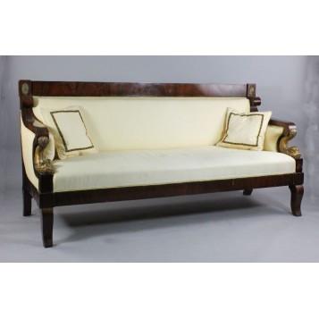 Купить старинный диван, антикварная мебель, Русский ампир