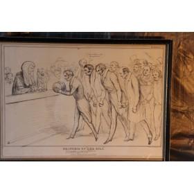 Английская гравюра, Купить набор старинных сатирических гравюр в подарок