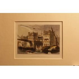 Купить антикварные гравюры в подарок в Москве Виды Англии