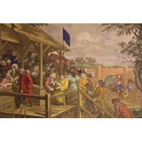 Английские антикварные сатирические гравюры,Англия, 1801 г.