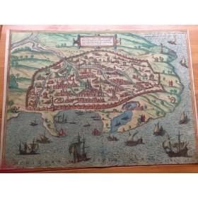 Старинная карта Александрии, Civitates Orbis Terrarum Coloniae Agrippinae