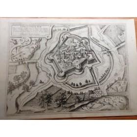 Антикварная гравюра Sanctonicolavm, Civitates Orbis Terrarum Coloniae Agrippinae, 1572