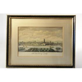 Викторианская старинная гравюра купить в подарок в Москве Derby
