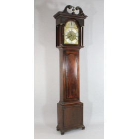 Старинные напольные часы мастера Joseph Taylor, XVIII век