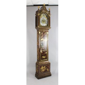 Антикварные напольные часы Thomas Schindler, Canterbury, РОКОКО, Англия, XVIII век