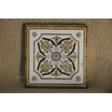 Антикварная викторианская плитка