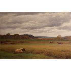 Старинная картина художника Джозефа Кнайта